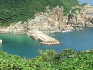 富江町琴石港